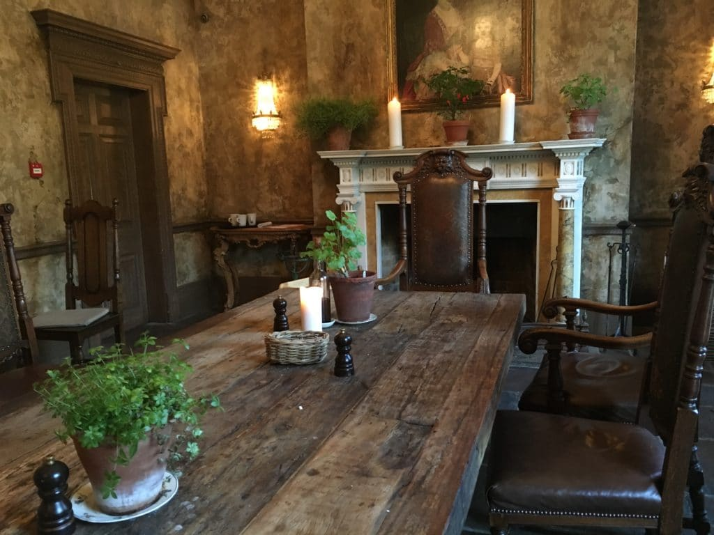 The Pig near Bath, dining room